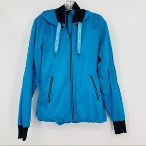 Lululemon Blue Pleated Back Jacket, Size 6